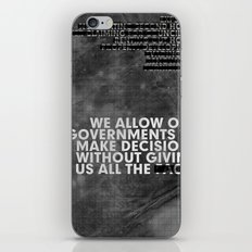 The Facts iPhone & iPod Skin