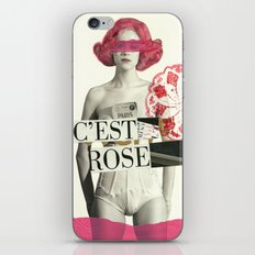c´est rose iPhone & iPod Skin