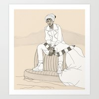 Self-Proclaimed Royalty … Art Print