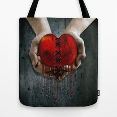 The Resilient Heart Tote Bag
