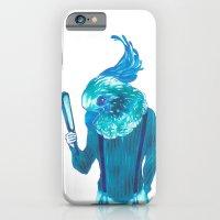 iPhone & iPod Case featuring Baby Blue #1 by Natsuki Otani