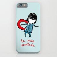 la niña imantada iPhone 6 Slim Case