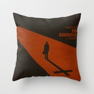 The Exorcist Inspired Vi… Throw Pillow
