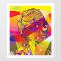 Audrey Fractal Art Print