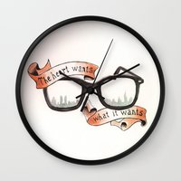 The Heart Wants What It … Wall Clock