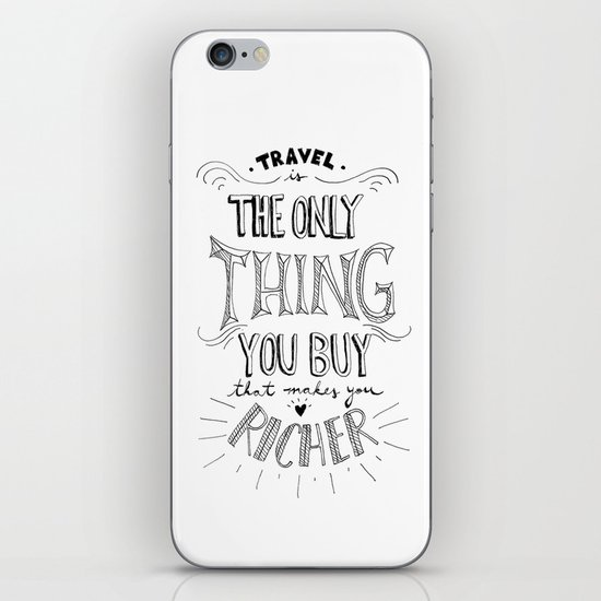 Go & Explore iPhone & iPod Skin