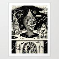 Imminent Disruption Of A… Art Print