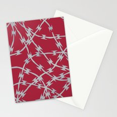 Trapped Red Stationery Cards