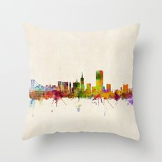 San Francisco City Skyli… Throw Pillow