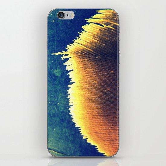 White Edge iPhone & iPod Skin