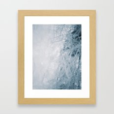 THE BUBBLE NET Framed Art Print