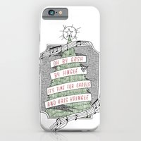 iPhone & iPod Case featuring carols & kris kringle by kate gabrielle