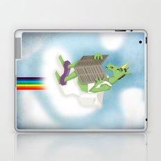Rainbow Flush Unicorn Laptop & iPad Skin