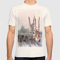 Mayport 3 Of 3 Mens Fitted Tee Natural SMALL