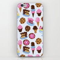 Dessert Pattern iPhone & iPod Skin