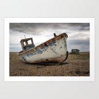 The Trawler, Dungeness, … Art Print