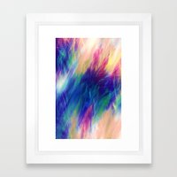Paint Feathers in the Sky Framed Art Print
