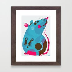 Ratso Framed Art Print