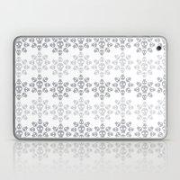 Skull Flowers Laptop & iPad Skin