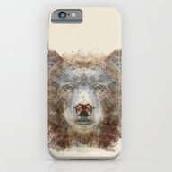 iPhone & iPod Case featuring Grizzly Bear by Bri.buckley