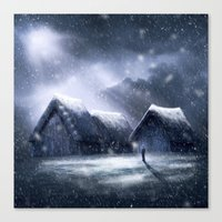 Going Home For Christman Canvas Print