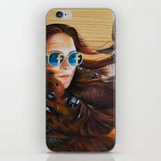 While Life Passes By iPhone & iPod Skin