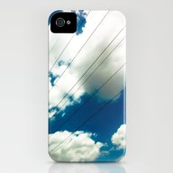 Lines And The Blue Sky iPhone (4, 4s) Slim Case