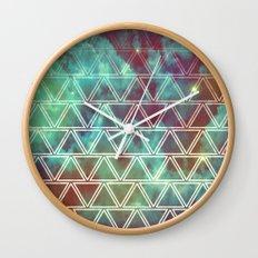 Geo Fade Wall Clock