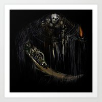 Gravelord Nito - Dark So… Art Print