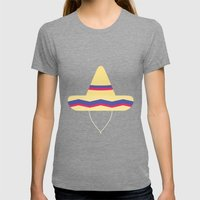 #31 Sombrero Womens Fitted Tee Tri-Grey SMALL