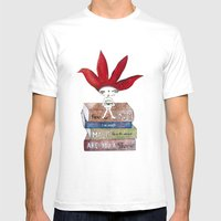 Soul-Searching Bhoomie Mens Fitted Tee White SMALL