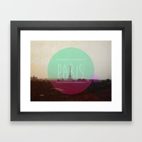 Paris Framed Art Print