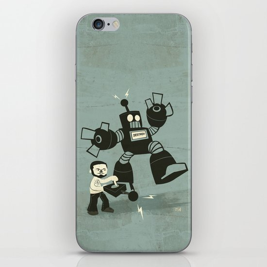 One Button Destruction iPhone & iPod Skin
