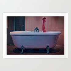 Arm Tub Art Print
