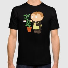 Gregor Mendel Black SMALL Mens Fitted Tee