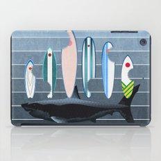 Shark Week - A balanced diet is essential  iPad Case