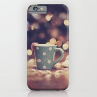 iPhone & iPod Case featuring Happy Holidays by Karin Elizabeth