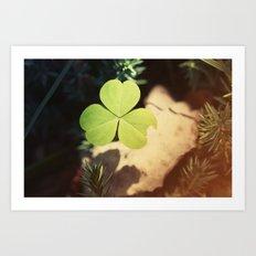 Wishing For Luck Art Print