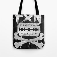 Fiction Design Tote Bag