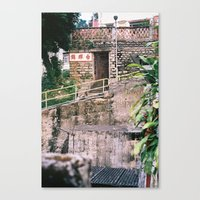 Village Homes In New Ter… Canvas Print