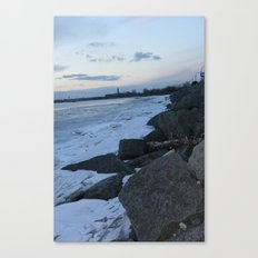 Rocky Shore Canvas Print