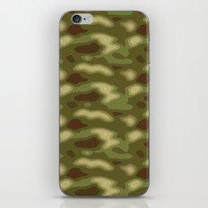 Camo pattern iPhone & iPod Skin