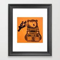 Fat Beat! Framed Art Print