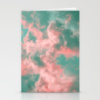 Watermelon Sunset Stationery Cards