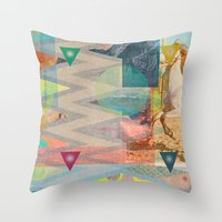 DIPSIE SERIES 001 / 01 Throw Pillow