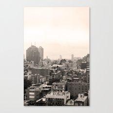 Lower East Side Skyline #1 Canvas Print