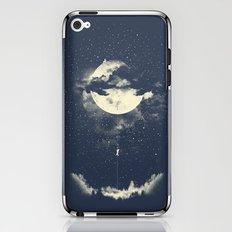 MOON CLIMBING iPhone & iPod Skin