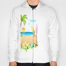 Tropical Island Hoody