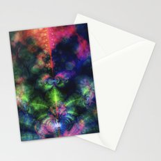 Fractal Space Stationery Cards