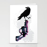 Death On Death Stationery Cards